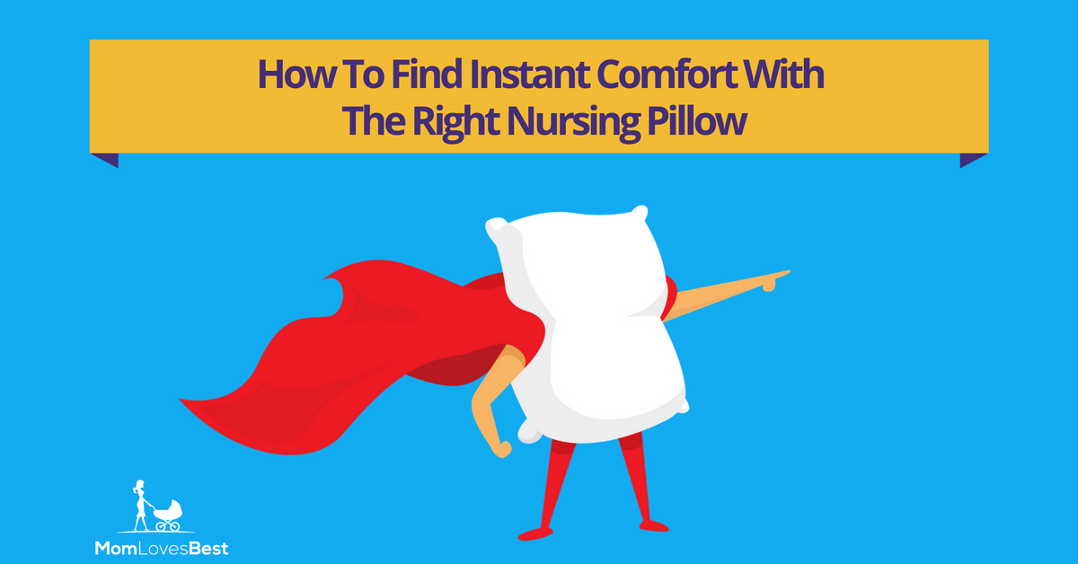 The 5 Best Nursing Pillows In 2017 Buyer S Guide Amp Reviews
