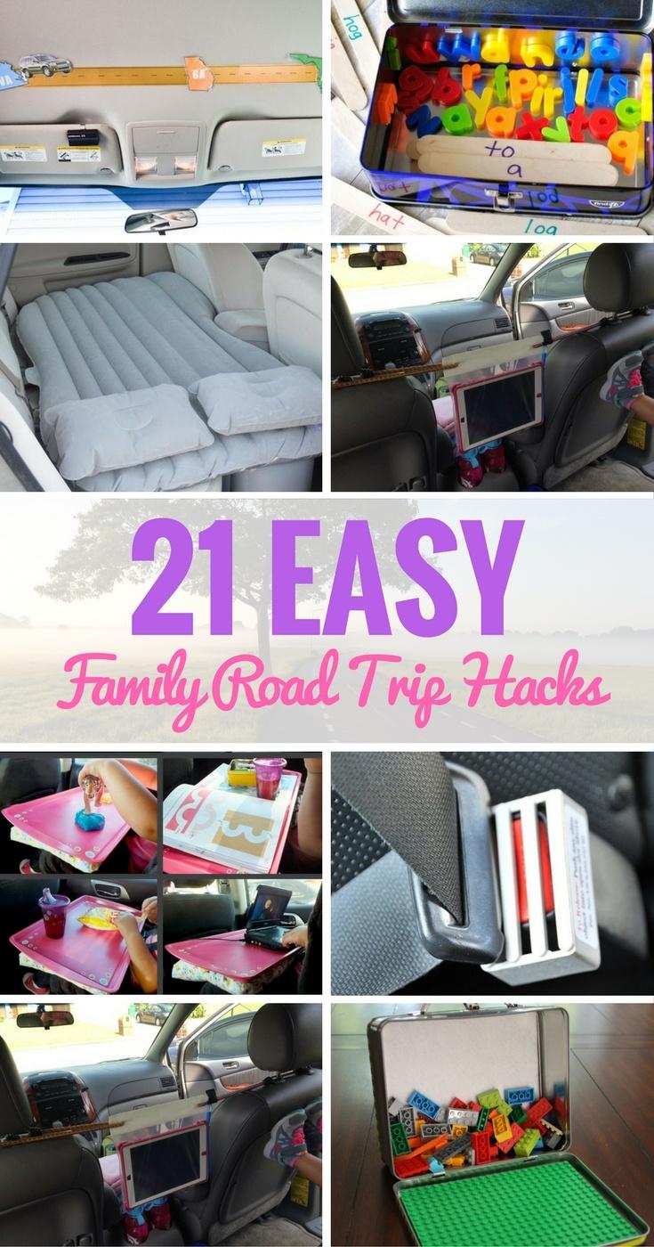 20 Easy Family Road Trip Hacks Make Travelling More Fun