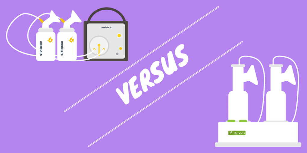 Ameda vs Medela Breast Pumps
