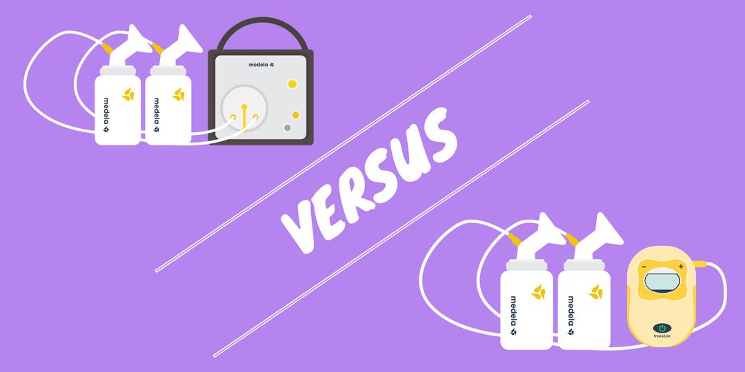 Medela Freestyle vs Pump In Style