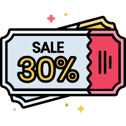 Clip Coupons Icon
