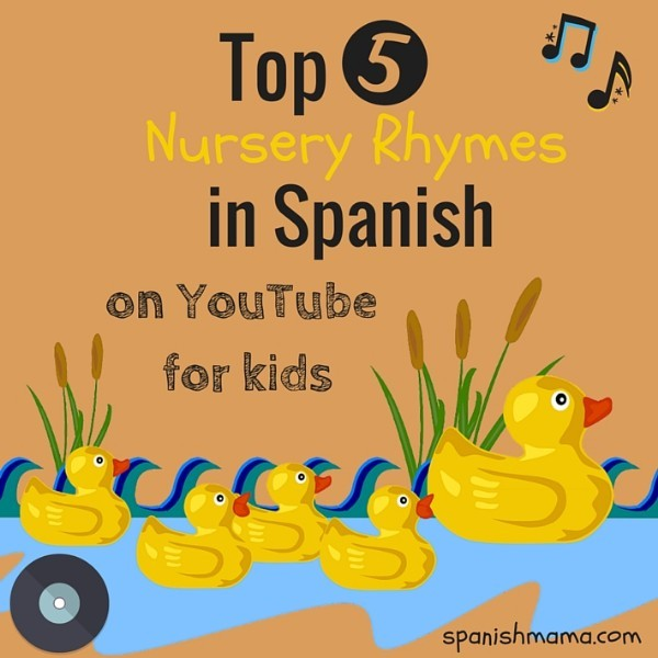 YouTube to the rescue! Your kids already know these nursery rhymes, now they can learn the Spanish versions.