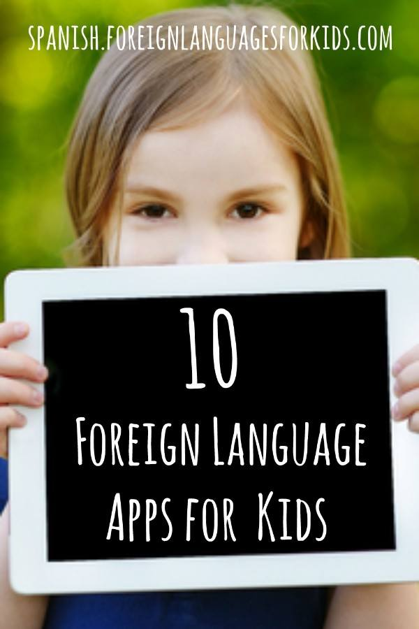 Use technology to your advantage. These apps can help your kids learn a new language.