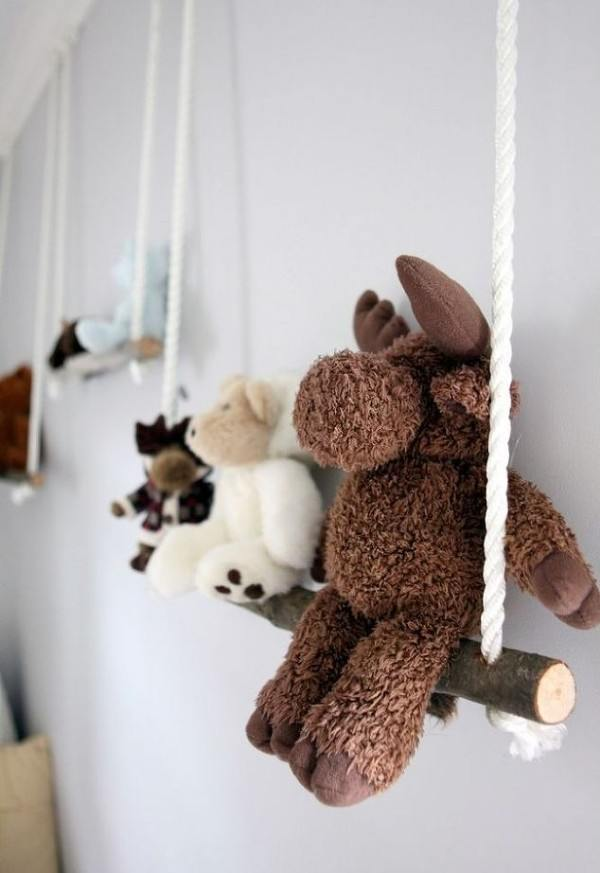 Maximize Both E And Cuteness With This Fabulous Idea For Stuffed Animal Storage