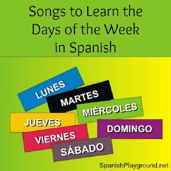 Teach the days of the week through simple songs.