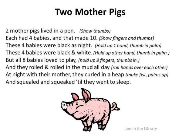 Thumbs up for the Two Mother Pigs!