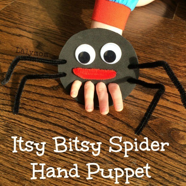 You already know the Itsy Bitsy Spider. Make it even more fun with this tutorial.