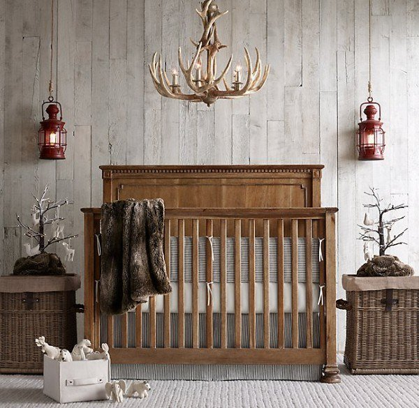 20 Make A Serious Statement With This Antler Chandelier Not Just Any Baby Could Pull It Off