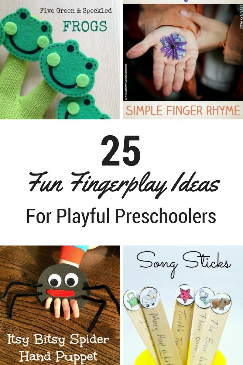 25 Fun Fingerplay Ideas for Playful Preschoolers
