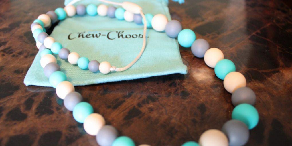 Chew-Choos Playdate Baby Teething Necklace Sideview.JPG