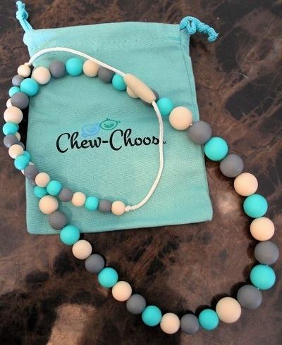 Choo Choos Teething Necklace