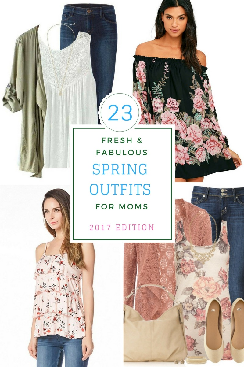 Spring Outfits For Moms in 2017