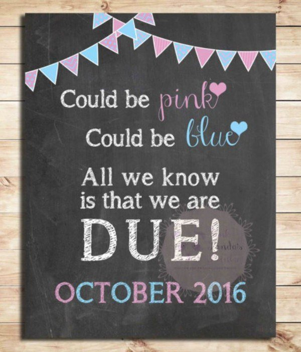 25 of the most memorable pregnancy announcement ideas ever. Black Bedroom Furniture Sets. Home Design Ideas