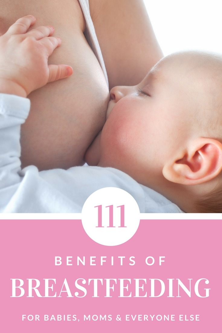 The 111 Benefits of Breastfeeding