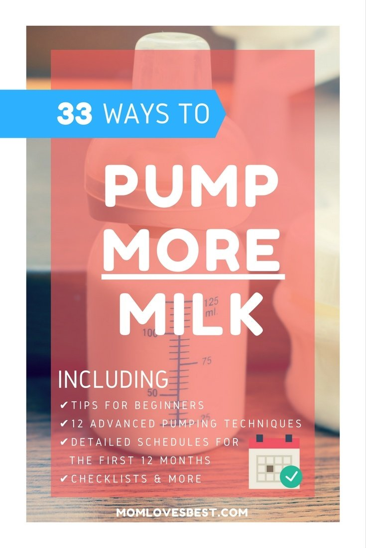 The Ultimate Guide To Pumping More Milk