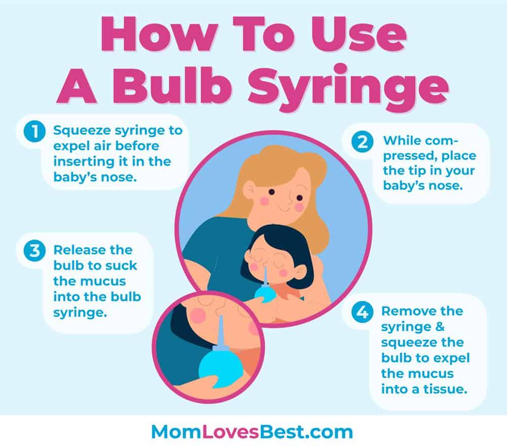How to Use a Nasal Aspirator Bulb Syringe