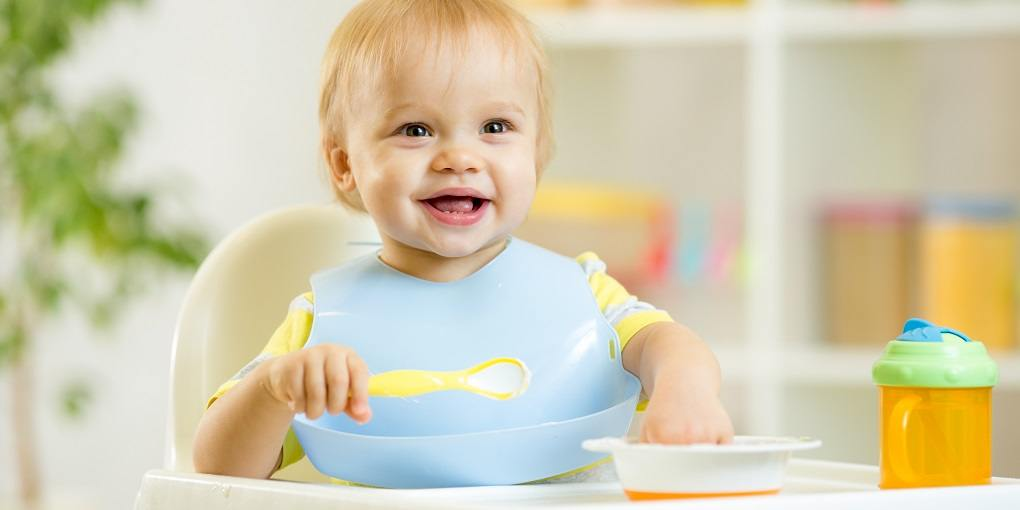 What age can baby start using a high chair?