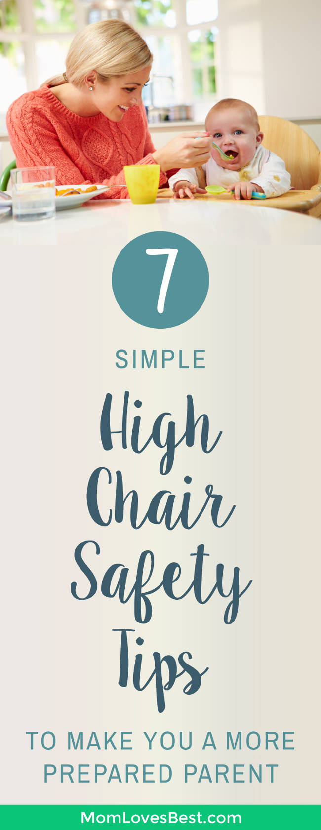 Do you have a high chair? Aside from simply buckling the straps, have you ever given much thought to safety? Each year, thousands of children are injured as a result of high chair related accidents. To prevent this from happening to your child, it's important to take certain precautions when using a high chair or booster seat. Here's everything you need to know to keep your child safe in their high chair. #highchairs #baby #motherhood #momlife #parentingtips
