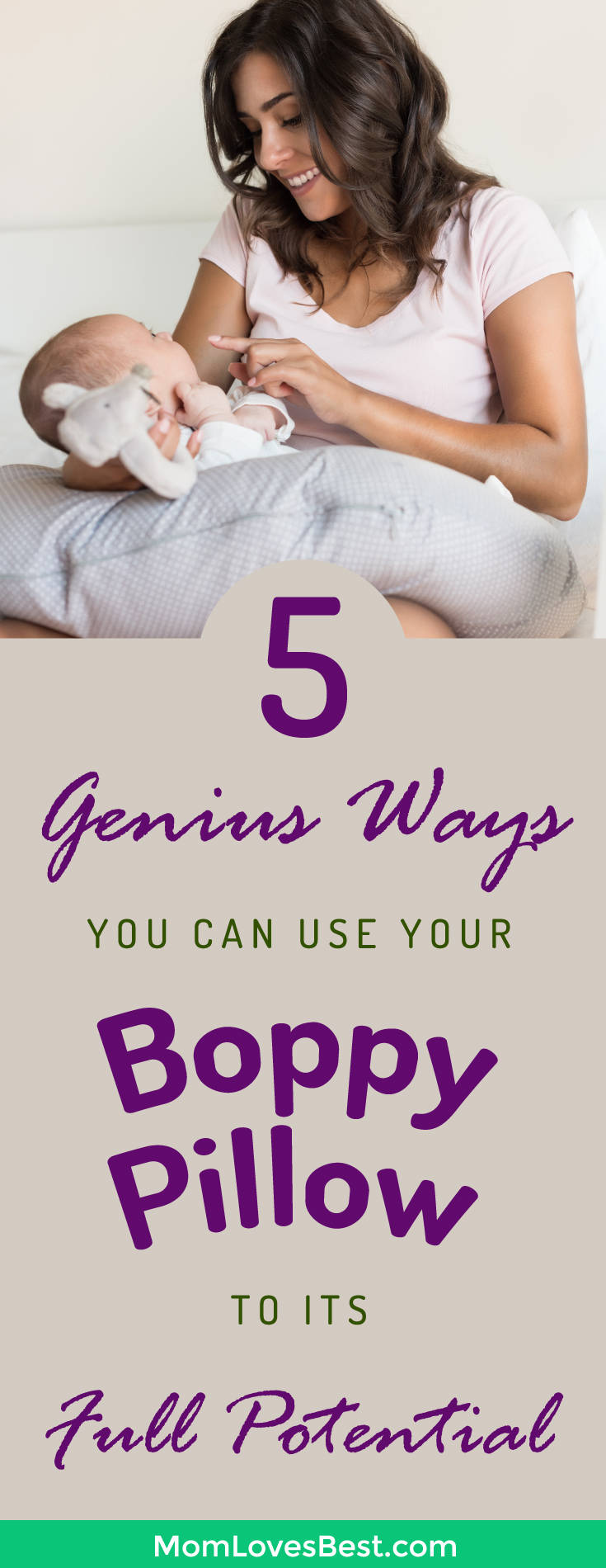 How To Use A Boppy Pillow For Breastfeeding Tummy Time Amp More