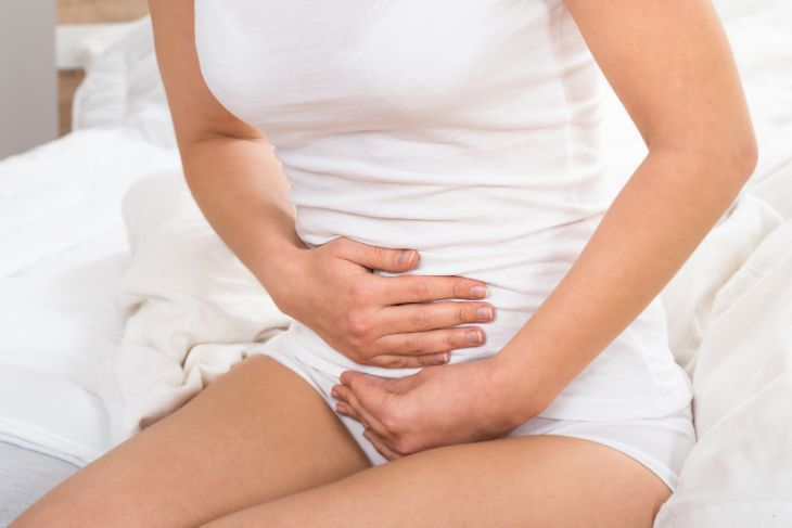 Pregnant woman with constipation
