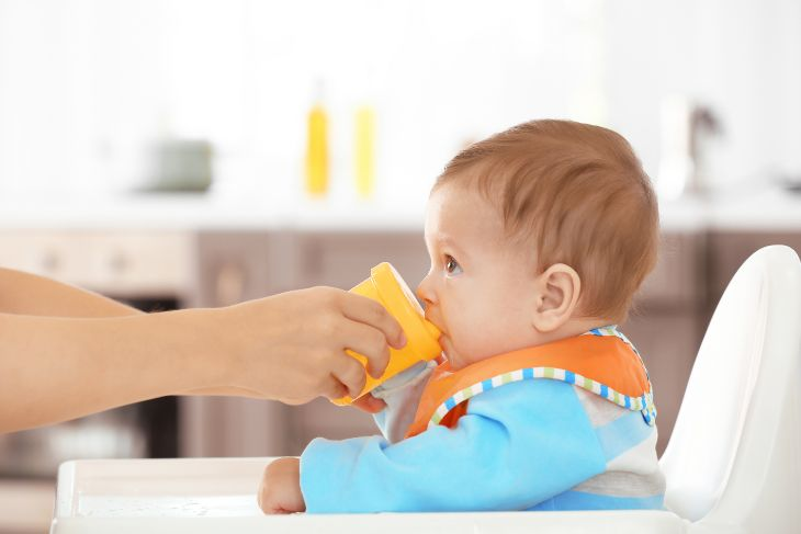 Weaning off the sippy cup