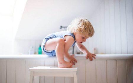 How to Babyproof Your Bathroom