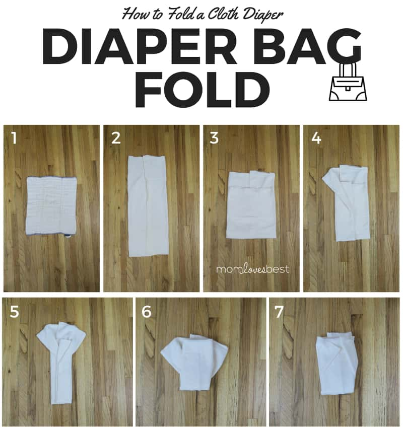Diaper Bag Fold - Cloth Diaper Fold