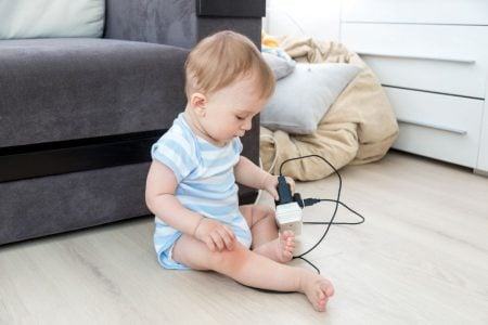 How To Babyproof Electrical Outlets and Cords (Step-by-Step Guide)
