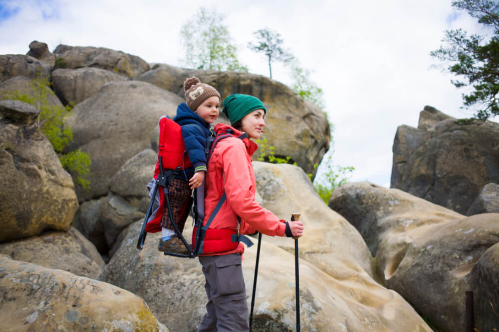 Hiking Baby Carrier Structure