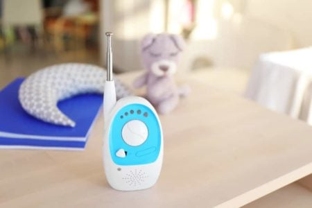 Best Audio Baby Monitor on the table