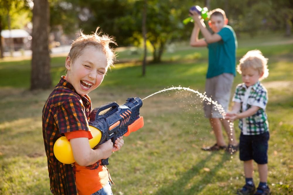 The Best Toy Guns: The Benefits of Imaginary Play
