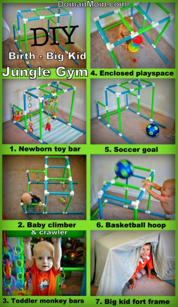 DIY Jungle Gym