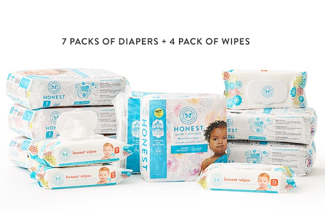 Product Image of the Honest Diapers Bundle