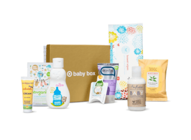 Product Image of the Target Baby Box