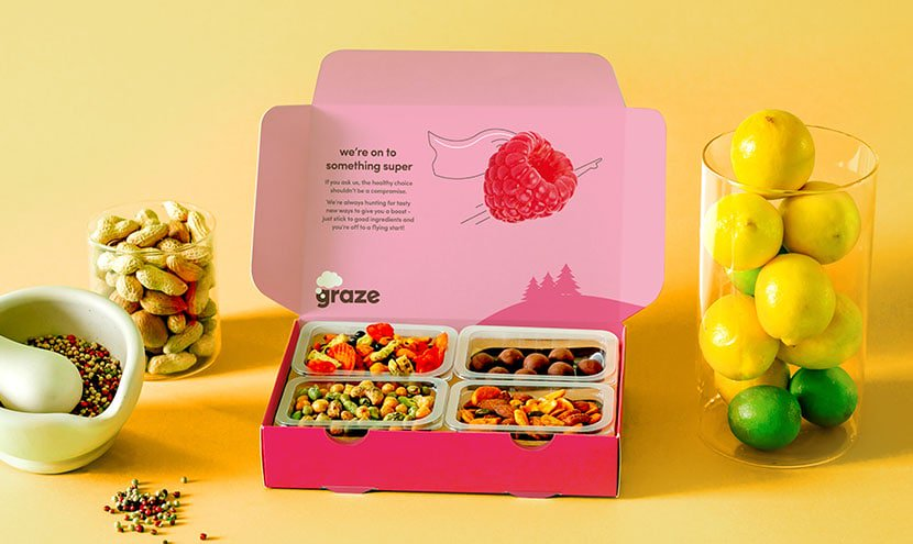 Product Image of the Graze Snack Box