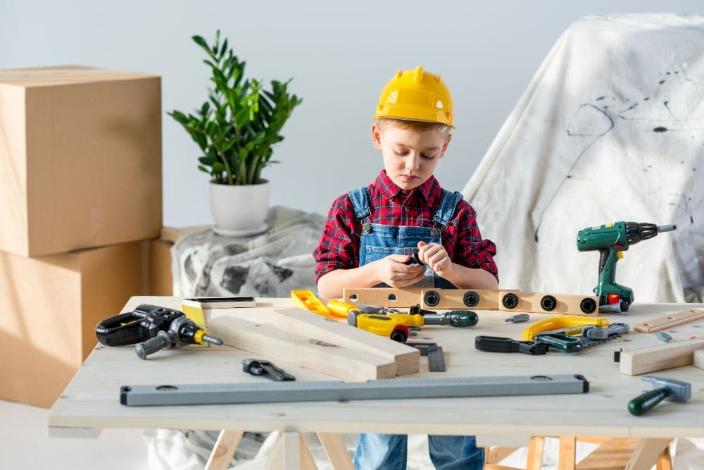 The Best Workbenches for Your Little Builder