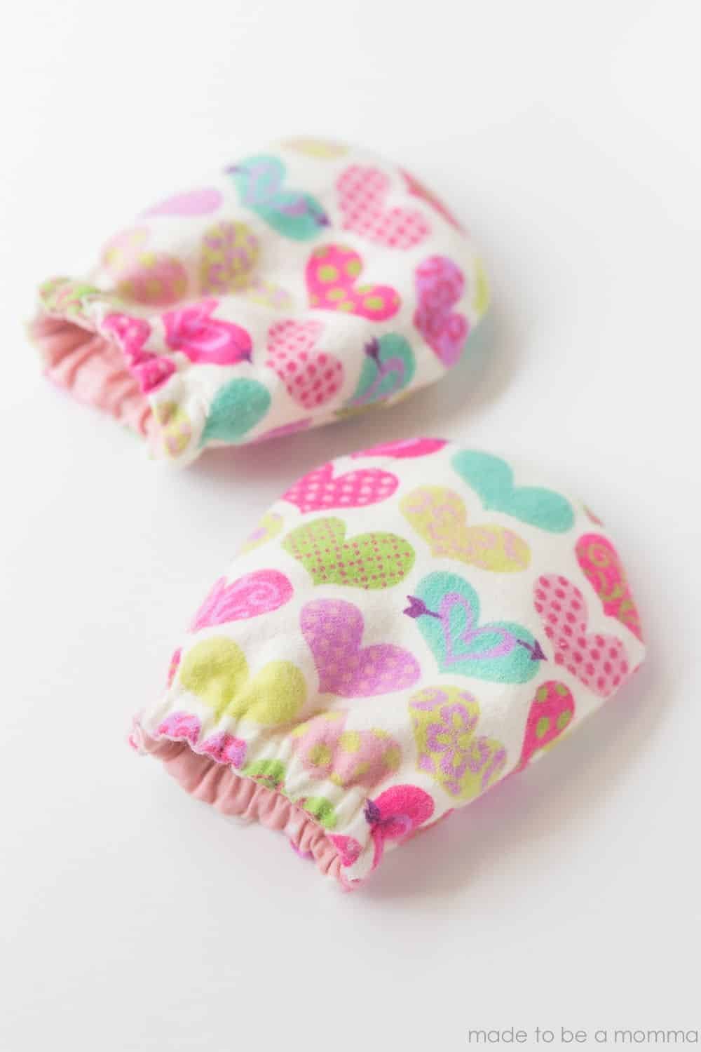 Product Image of the DIY Baby Mittens