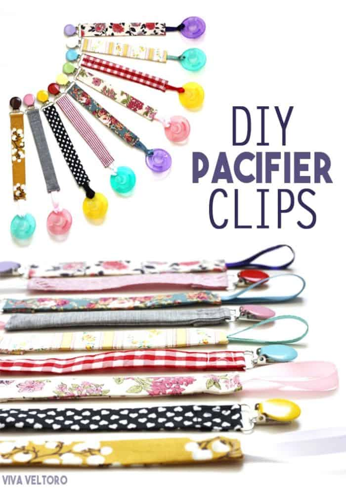 Product Image of the DIY Colorful Binky Clips