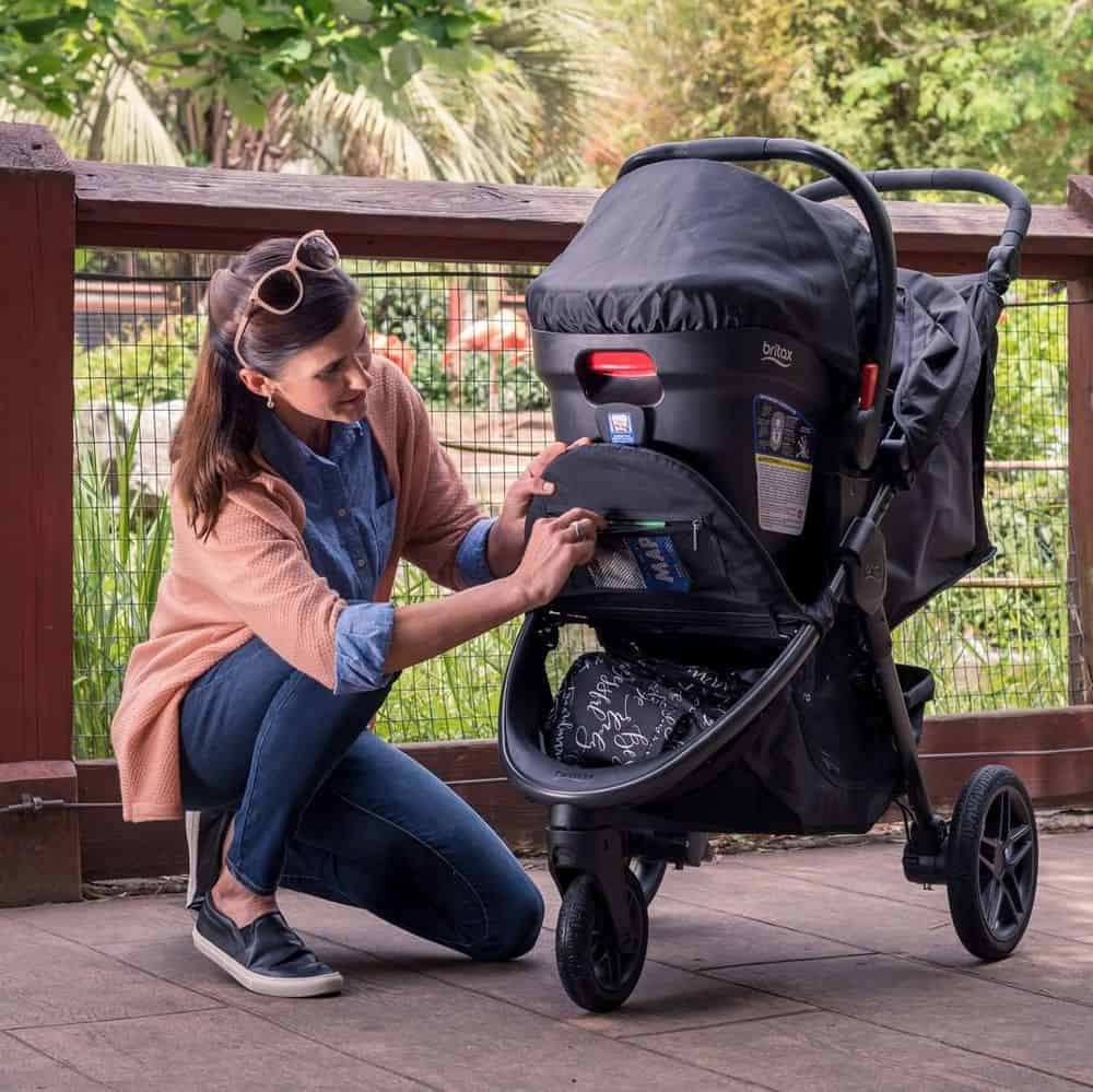 Britax Stroller In Use