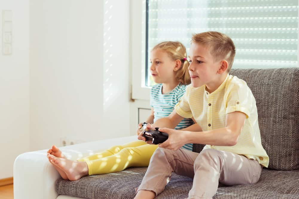Kids playing the best PS4 games