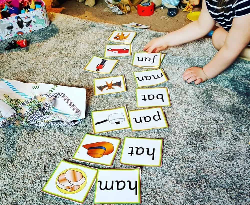 Toddler learning with Cvc Word List