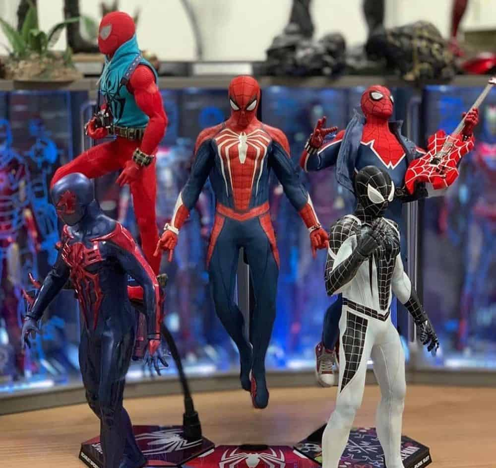Spiderman action figures