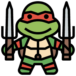 What are the names of the Teenage Mutant Ninja Turtles? Icon