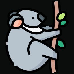 What do koalas eat? Icon