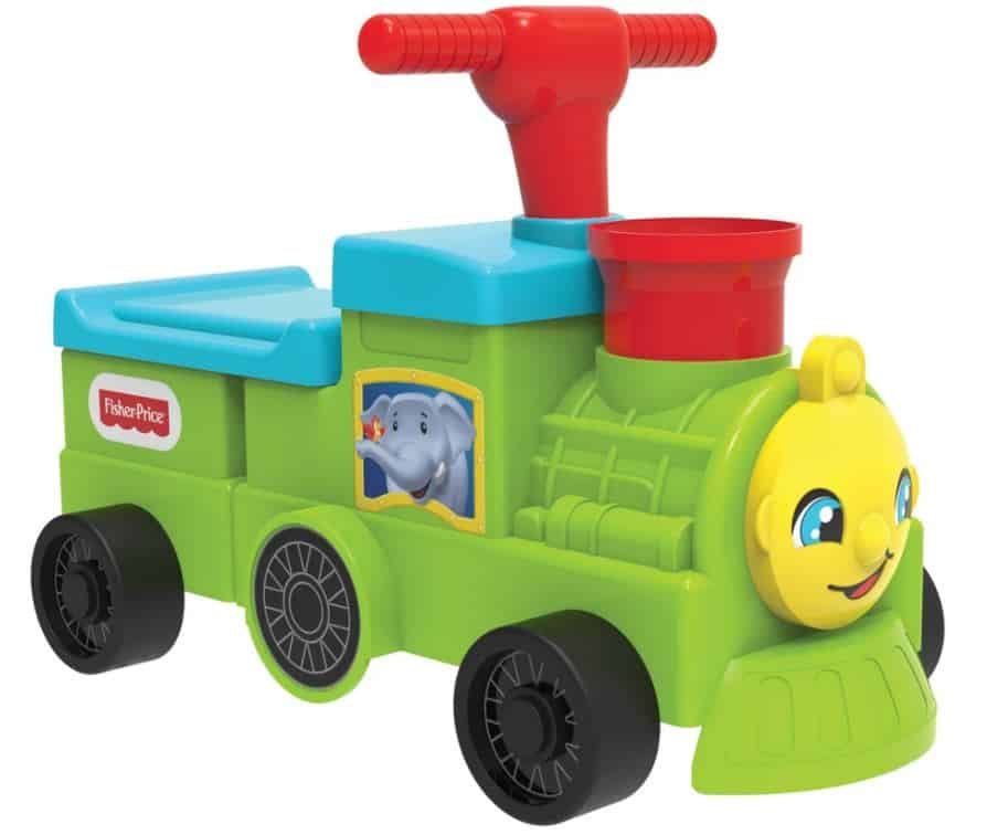 Product Image of the Fisher-Price Tootin Train Ride-On