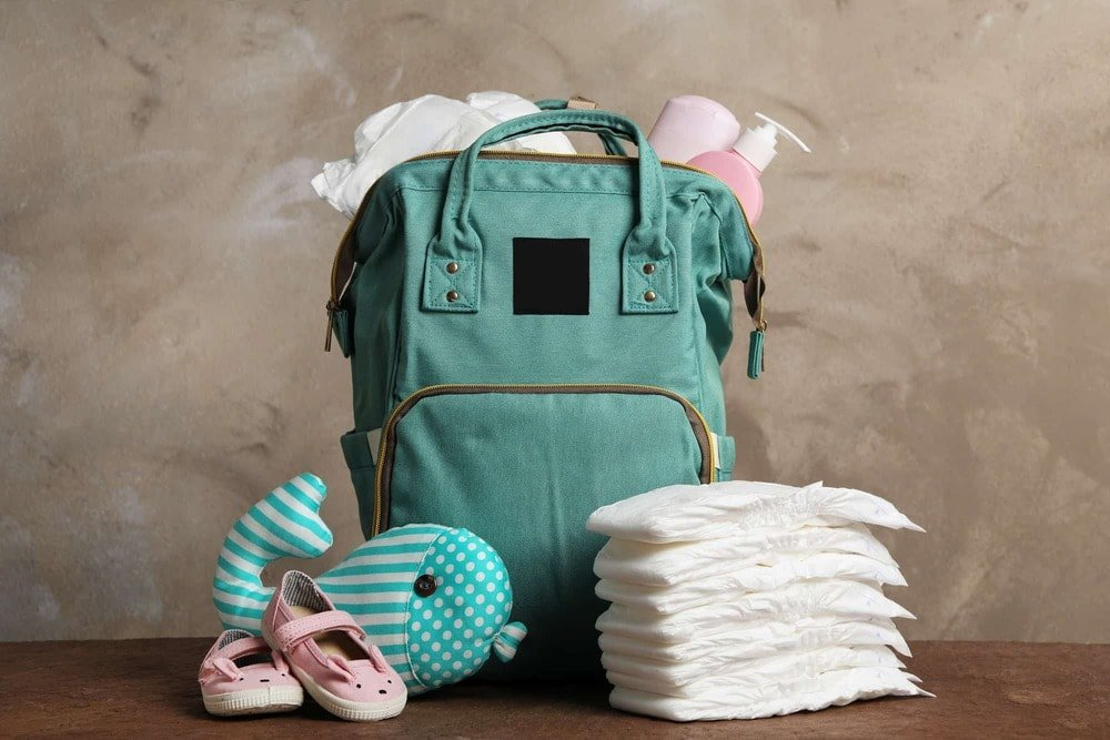 Large diaper bag for twins