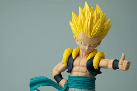 Dragon Ball Z anime toy figure of Son Gohan